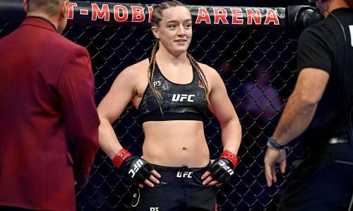 Aspen Ladd is currently unbeaten in the UFC