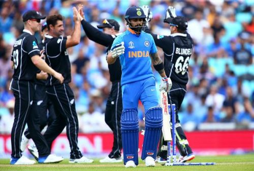 India had lost to New Zealand in a warm-up match of ICC Cricket World Cup 2019