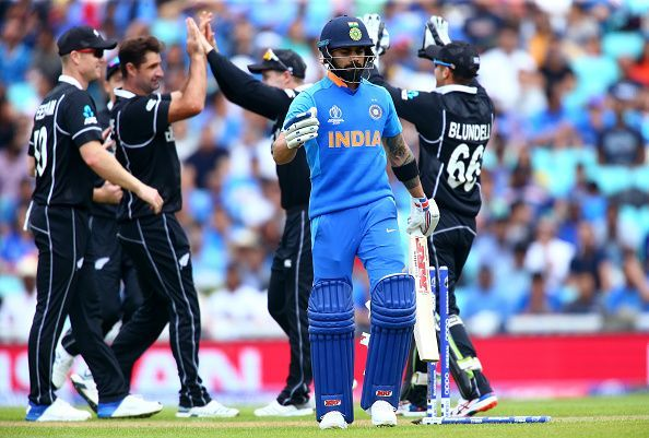 Why India lost Semi-final Match against New Zealand?