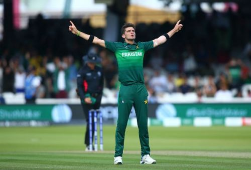 Shaheen Afridi bowled an exhilarating spell to dimantle Bangladesh at Lords.