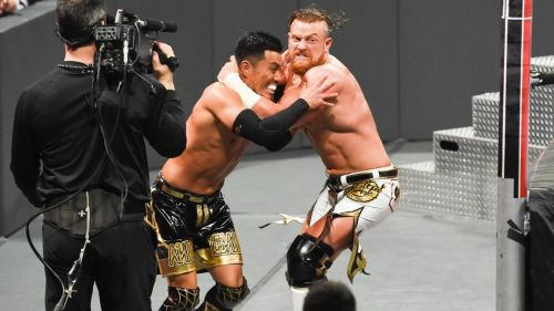 Buddy Murphy and Akira Tozawa competed in 205 Live's best match of the year.