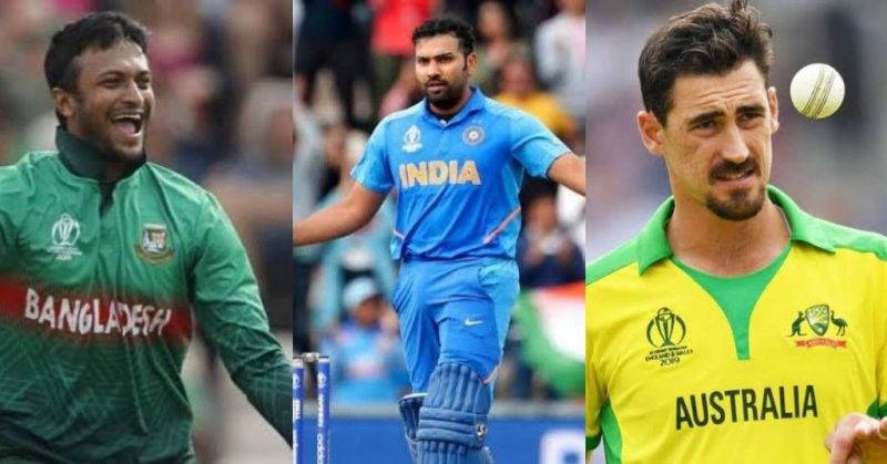 A few contenders for the illustrious award in World Cup 2019