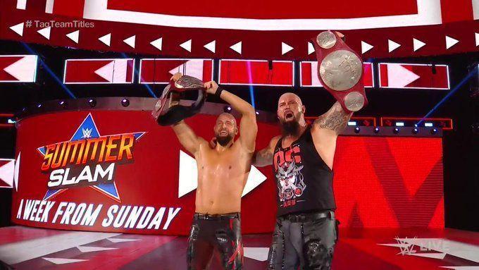 WWE ने आखिर क्यों नए रॉ टैग-टीम चैंपियंस बनाने का फैसला किया?