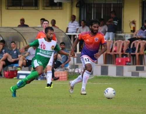 Oliviera scored to put Salgaocar ahead against Pune City in the AWES Cup.