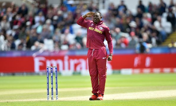 Sheldon Cottrell tore through batting lineups and had an awesome celebration for his wickets.
