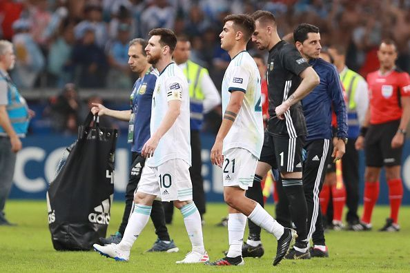Argentina were poor in the first half