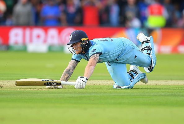 Stokes strained every muscle to take England to glory
