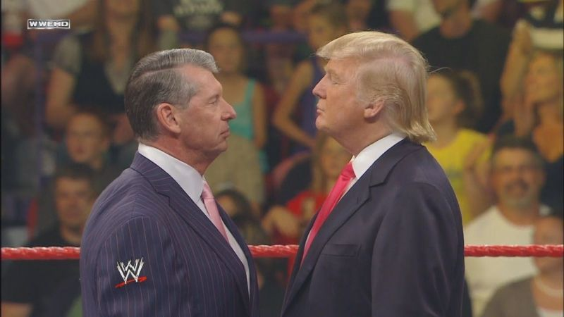 vince mcmahon and donald trump