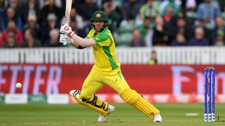 David Warner became the second Australian to score 600 runs in a WC.