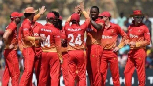 जिम्बाब्वे की टीम के खिलाड़ी