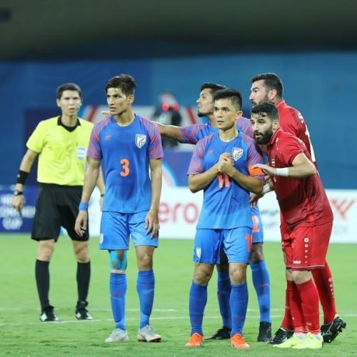 Syria had a lot of opportunities but they failed to convert any (Image Courtesy: AIFF)