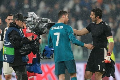 Cristiano Ronaldo will be Gianluigi Buffon's team-mate at Juventus