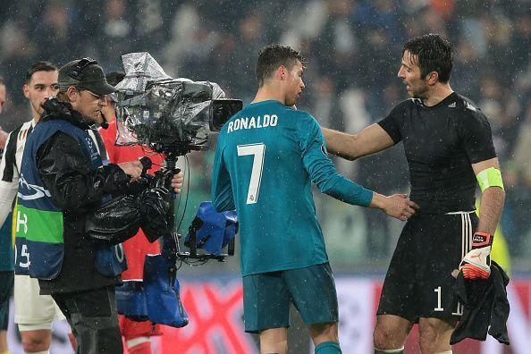 Cristiano Ronaldo will be Gianluigi Buffon