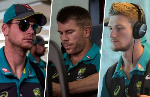 Steve Smith, David Warner and Cameron Bancroft are all back in the Aussie Test squad