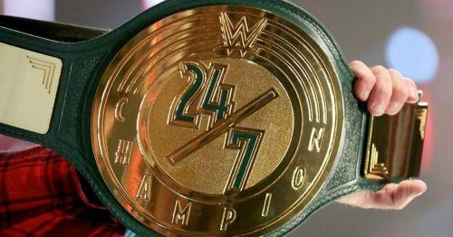 WWE 24/7चैंपयिनशिप बेल्ट