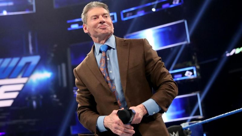 Vince McMahon makes the big decisions in WWE