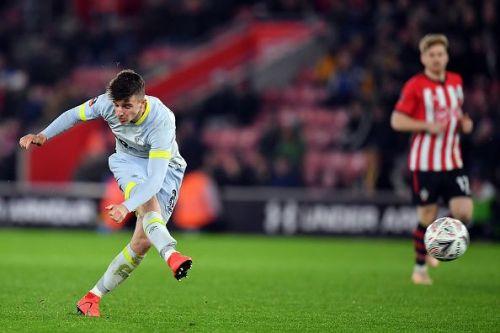 Mason Mount impressed for Derby County last season