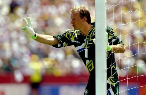 Taffarel was virtually unbeatable in goal for Brazil at the 1994 World Cup