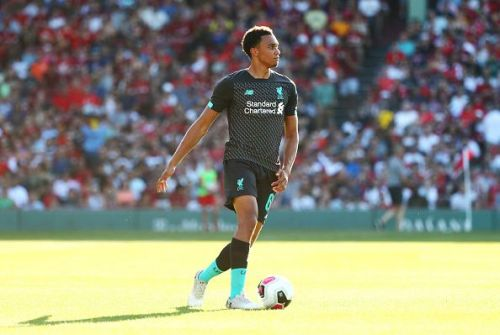 Alexander-Arnold was the defender with the most assists in the league last season