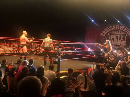 The Imperium Vs. British Strong Style feud continues in the dark match main event