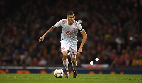 Dani Ceballos has six senior caps for Spain