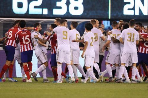 Real Madrid lost 3-7 to Atletico de Madrid