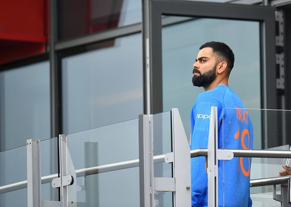 Virat Kohli during the World Cup semi-final against New Zealand.