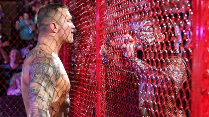 Randy Orton defeated Jeff Hardy at Hell In A Cell 2018