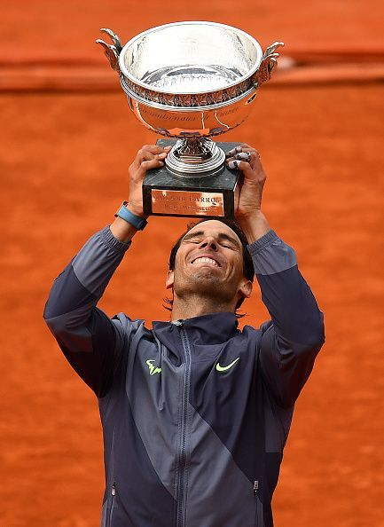 Nadal bested Thiem in a second consecutive French Open final