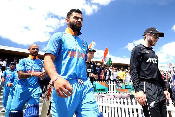 Virat Kohli and Kane Williamson are the two World Cup captains among the