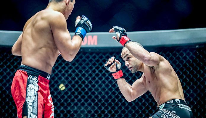 Someone is going to get stopped when Eddie Alvarez and Eduard Folayang collide