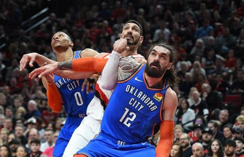 Will Steven Adams follow Russell Westbrook out of Oklahoma City?