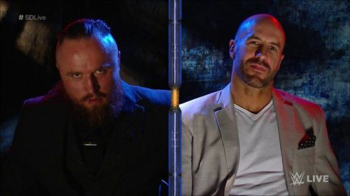 Cesaro and Aleister Black will battle it out this weekend