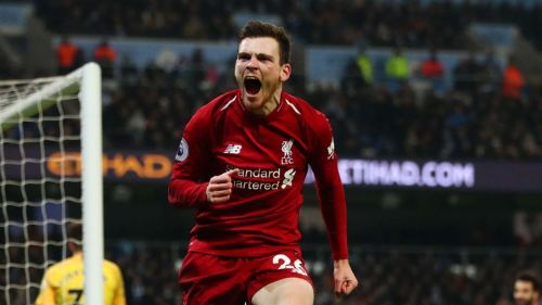 Robertson is widely regarded as the best left-back in world football