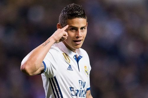 Real Madrid could lose James Rodriguez to Napoli