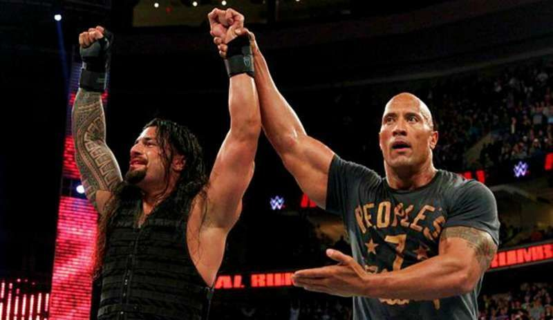 Roman Reigns vs The Rock has the potential to main event WrestleMania