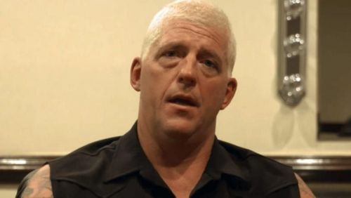 Dustin Rhodes gave some good advice to the young wrestler.