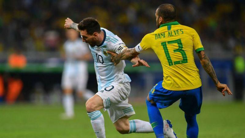 Dani Alves feels there was no corruption in the Copa America and Brazil