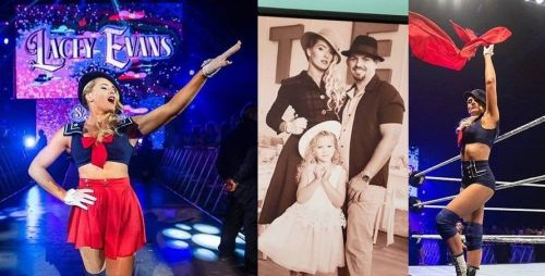 WWE Superstar Lacey Evans is a true family woman as well as an extremely athletic sports-entertainer