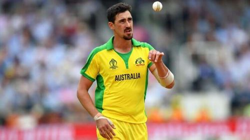 Mitchell Starc is the leading wicket-taker of World Cup 2019. Source- latestly.com