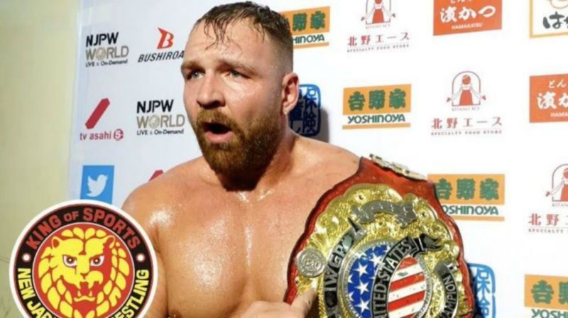 Moxley is the current IWGP United States Champion