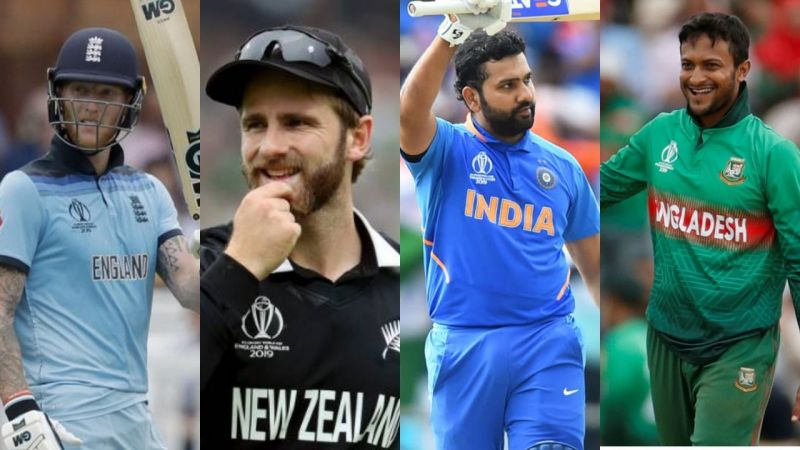 Top performers of World Cup 2019