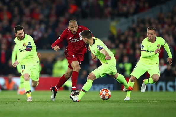Fabinho is a key player for Liverpool