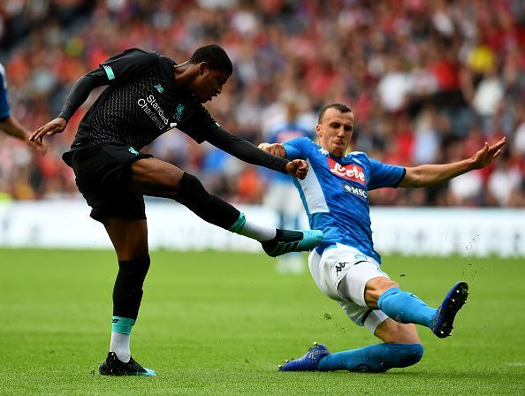 Liverpool were beaten comprehensively by Napoli