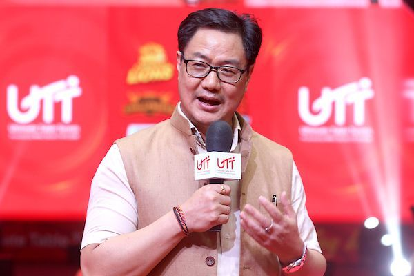 Kiren Rijiju, Minister of Youth Affairs and Sports