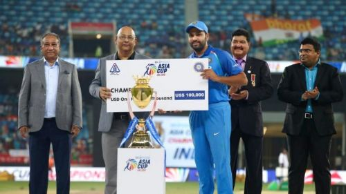 2018 Asia cup lead by Rohit Sharma