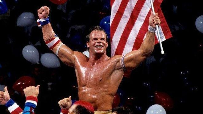 Lex Luger: Former two time World Champion