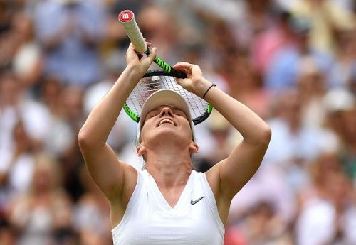 Simona Halep is on the brink of her second Grand Slam title.