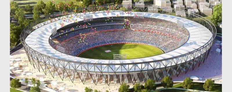 मोटेरा क्रिकेट स्टेडियम