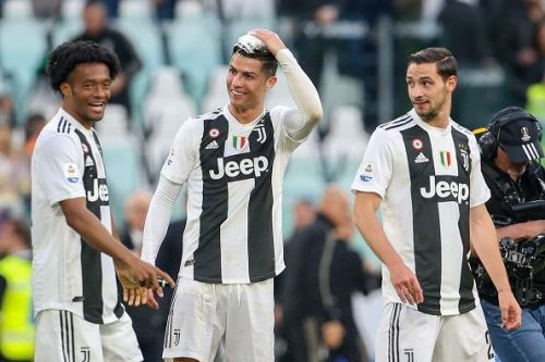 Juventus won their eight-straight Serie A title last season.